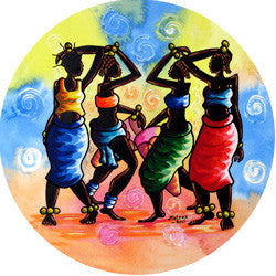 O22 Moleke Dance Fridge Magnet