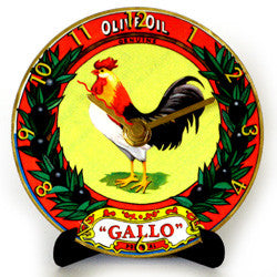 H06 Gallo Olive Oil Mini LP Clock