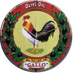 A06 Gallo Olive Oil Record Clock