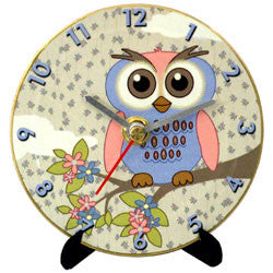 L05 Owl Mini LP Clock