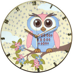 E05 Owl Record Clock
