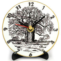 I17 Pierneef Baobab Mini LP Clock