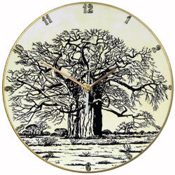 B17 Pierneef Baobab Tree Record Clock