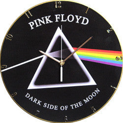 F07 Pink Floyd Dark Side of the Moon Record Clock