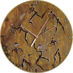 B24 Rock Art Dance Record Clock