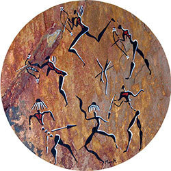O24 Rock Art Dance Fridge Magnet