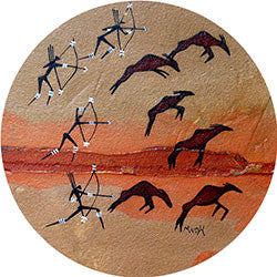O25 Rock Art Hunt Fridge Magnet