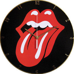 F09 Rolling Stones Record Clock
