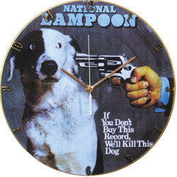 F13 Shoot the Dog Record Clock