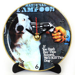 M13 Shoot the Dog Mini LP Clock