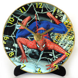 L02 Spiderman Mini LP Clock