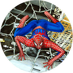 R02 Spiderman Fridge Magnet