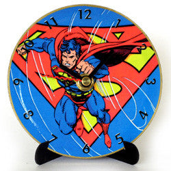 L03 Superman Mini LP Clock