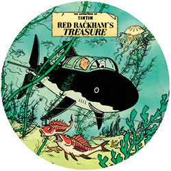 R07 Tintin Red Rackham's Treasure Fridge Magnet
