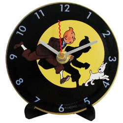 L06 Tintin & Snowy Mini LP Clock