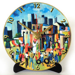 I13 Township & City Mini LP Clock