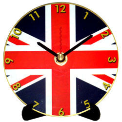 J15 Union Jack Mini LP Clock