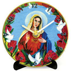 M40 Virgin Mary Mini LP Clock