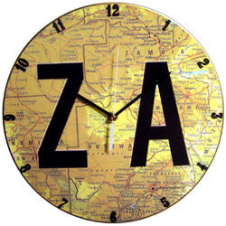 B10 ZA on Map Record Clock