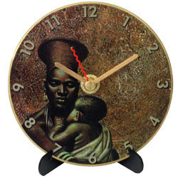I18 Zulu Mother & Child Mini LP Clock