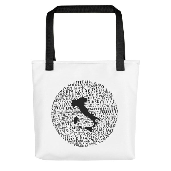 tote bag food art italy