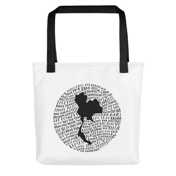 food art from thailand tote bag