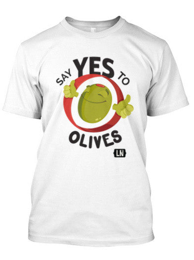 Say Yes to Olives - Men's Crew Neck T-shirt