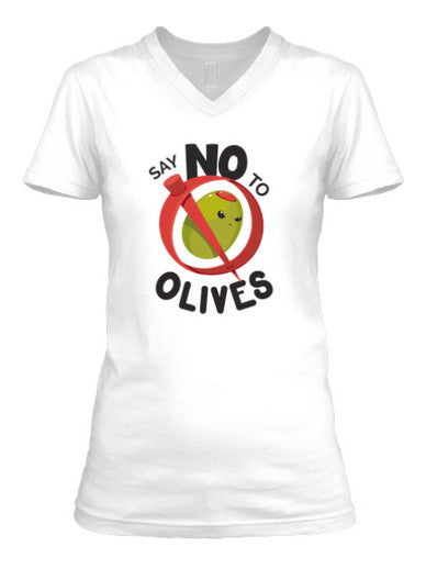 Say No to Olives - Women's Scoop T-shirt