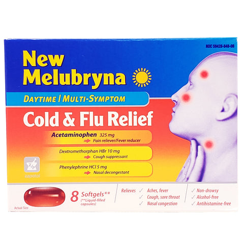 New-Melubryna Cold & Flu