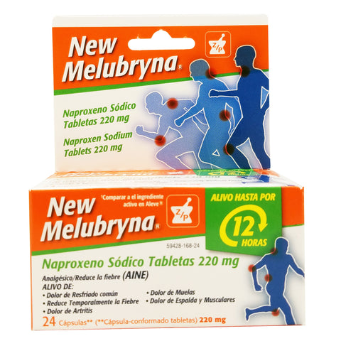 New-Melubrynba Tablets (Pain Reliever & Fever Reducer)