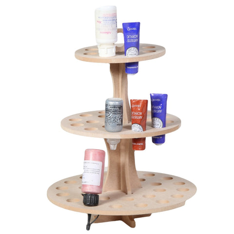 3 Tier Ink/Paint/Glue Storage Holder Unit