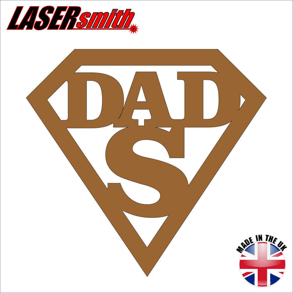 Super Dad Plaque