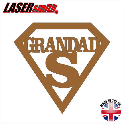 Super Grandad Plaque