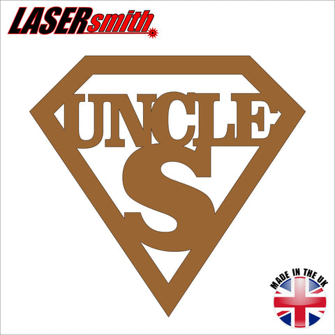 Super Uncle Plaque