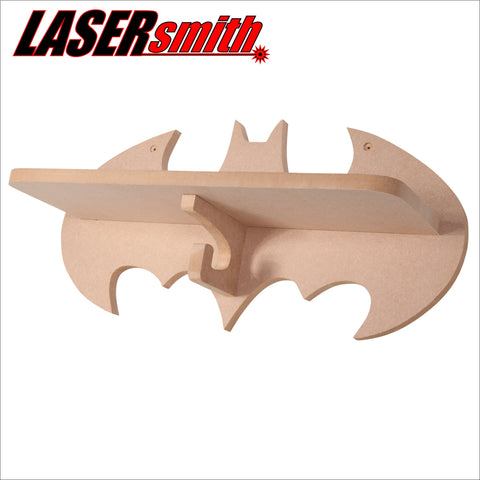Batman shelf with coat hanger