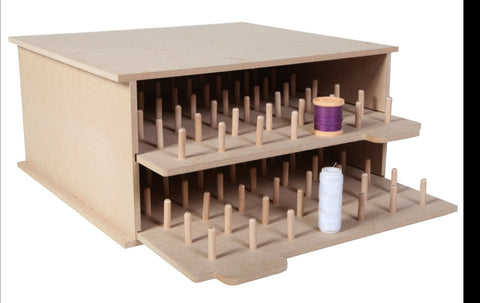 Bobbin/Thread Holder for Ikea Kallax Units