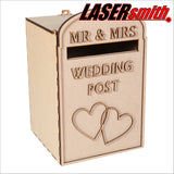 Small UK Wedding Post Box