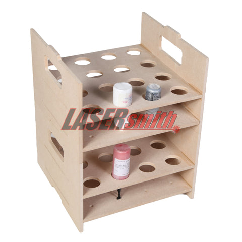 Ink, Paint, Glue Stacking Storage Holder Unit