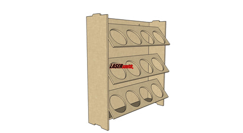 Aerosol Spray Can Storage Racking Storage