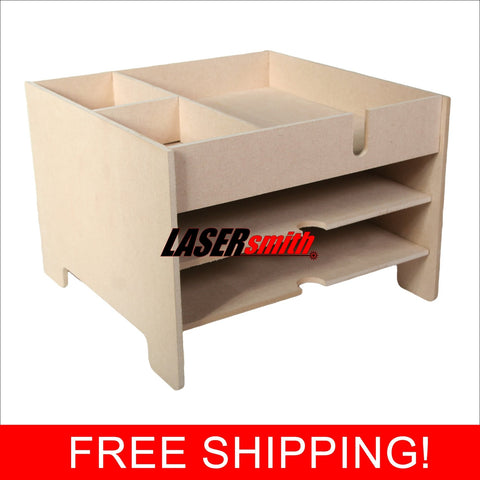 12 x 12 and A4 office desk and craft paper storage