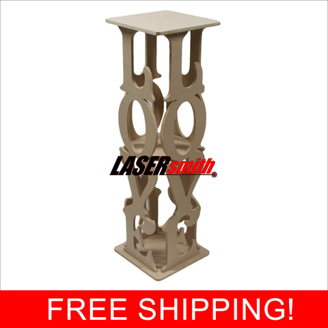LOVE - Wedding entrance decorative column flower stand prop for event decoration