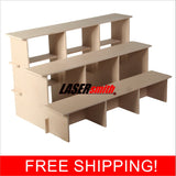 3 tier display/ storage unit - 3 sizes
