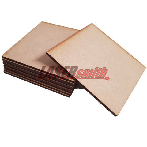 Pack of 10 MDF Coasters