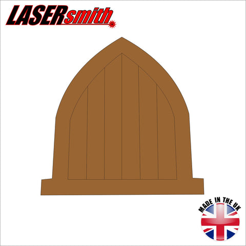 Fairy mythical shapes lasersmith for Fairy door shapes