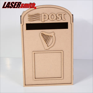 Small Irish Wedding Post Box