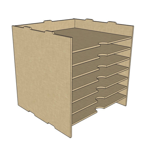 12 x 12 paper storage unit for Kallax Ikea