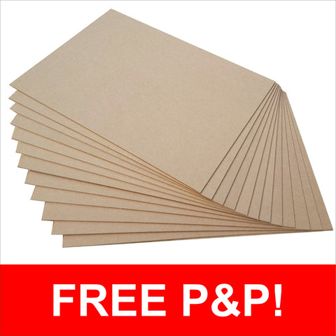 A4 Blank MDF Sheets