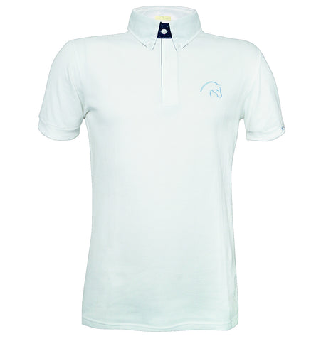 Razzapura Men's White polo shirt