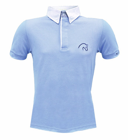 Razzapura Men's Sky Blue polo shirt