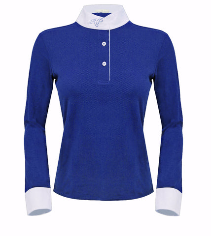 Razzapura Ladies Blue Polo Shirt